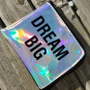 Dream Big Pouch with Zipper NEW